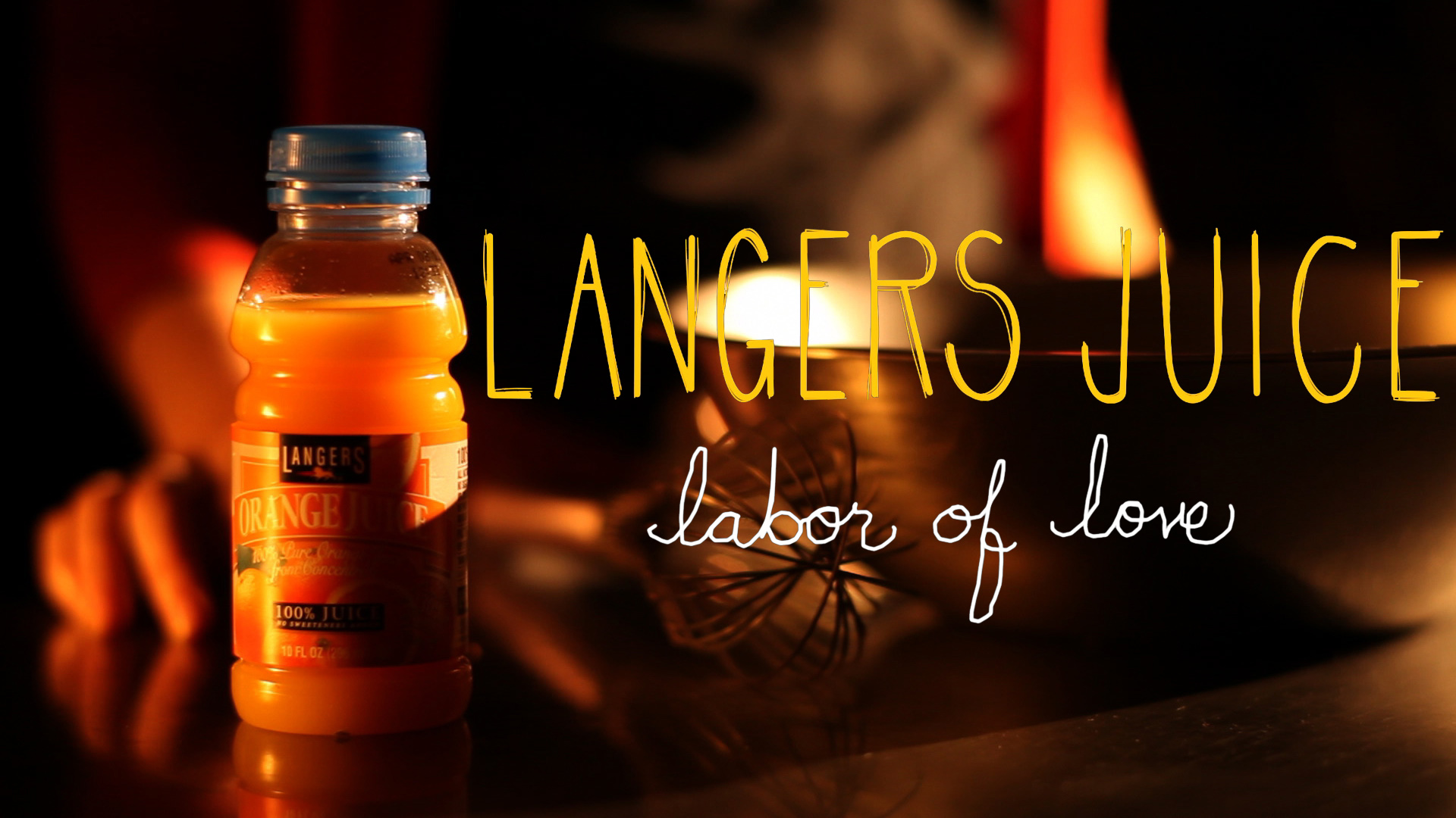 LA production company langers juice commercial