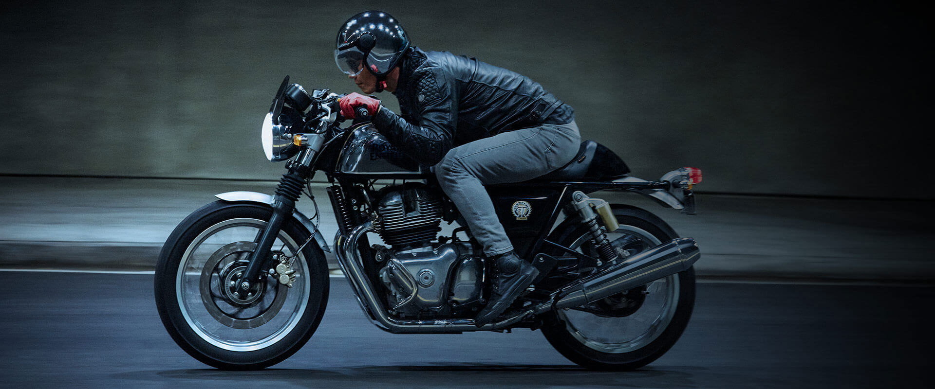 Royal Enfield Continental GT Motorcycle Commercial Production
